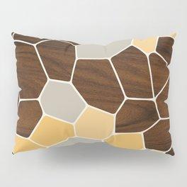 Geode in Orange Pillow Sham