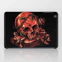 art history iPad Cases featuring Dark history by barmalisiRTB