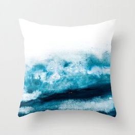 OCEANBLUE Throw Pillow