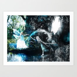 Conflicting Journey To Reality Art Print