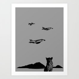 Vector Roll Art Print