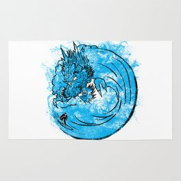 Dragon Waves Rug