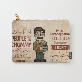 Ron Swanson 6 Carry-All Pouch