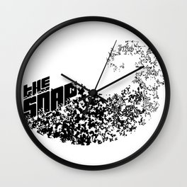 The Snap Wall Clock