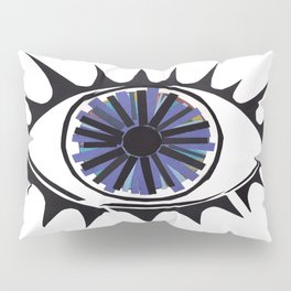 Blue Eye Warding Off Evil Pillow Sham
