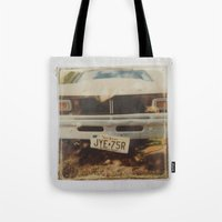 ford Tote Bags featuring Ford by Michael Shepherd