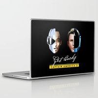 bucky barnes Laptop & iPad Skins featuring Up All Night to Get Bucky by robin