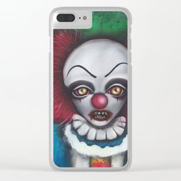 we all float down here Clear iPhone Case