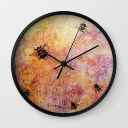 The Queen's Song: All Hail the Queen Wall Clock