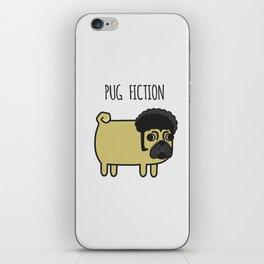 6# PUG FICTION iPhone Skin