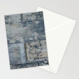 Warehouse District -- Vintage Industrial Farm Chic Abstract Stationery Cards