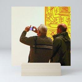 The White Wall Mini Art Print