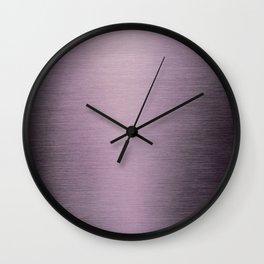 Purple Ombre II Wall Clock