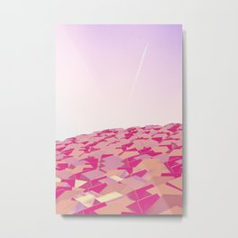 Cubes v3 Metal Print