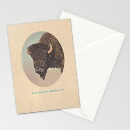 An old Resident of Buffalo, New York Stationery Cards
