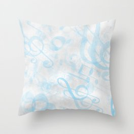 DT MUSIC 2 Throw Pillow