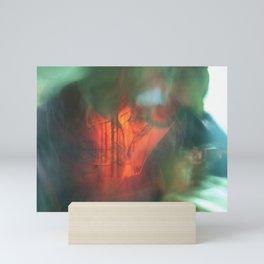 Nic Abstract Portrait Mini Art Print