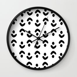Abstract minimalistic art Wall Clock