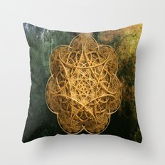Celtic Gold Throw Pillow