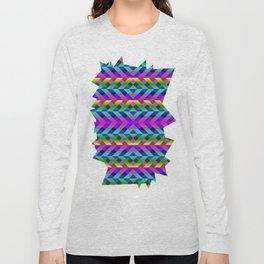 Rainbow Scaffolding Long Sleeve T-shirt