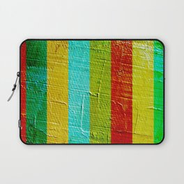 colourful wall Laptop Sleeve