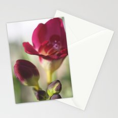 pink flowers.. Stationery Cards