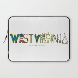 West Virginia - Morgantown Laptop Sleeve