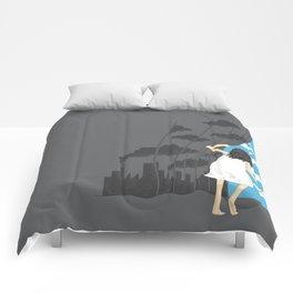 Hey Mr. Blue Sky Comforters