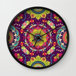 Papel de Parede Mandalas Wall Clock