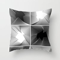 psych Throw Pillows featuring psych by glitch