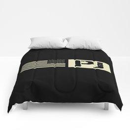 Pararescue (PJ) Black Flag Comforters