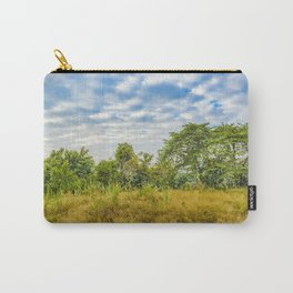 Meadow Tropical Landscape Scene, Guayaquil, Ecuador Carry-All Pouch
