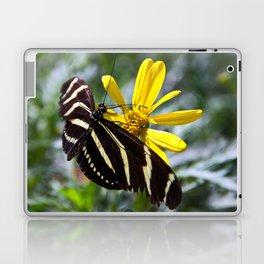 Zebra Longwing Feeding Laptop & iPad Skin