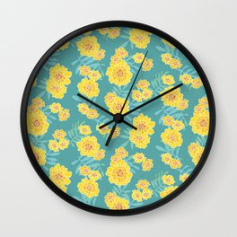 Marigold Disco Wall Clock