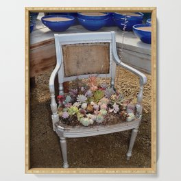 succulent chair Serving Tray