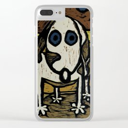 """""""Skippy visits Canyon lands Clear iPhone Case"""
