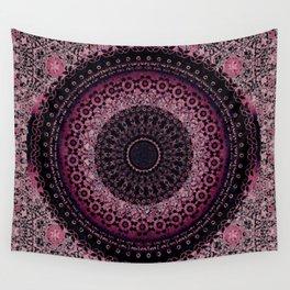 Rosewater Tapestry Mandala Wall Tapestry