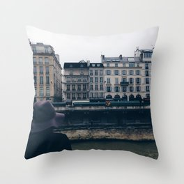 Saint Germain Throw Pillow