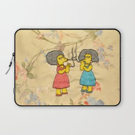 Patty and Selma - The Simpsons  Laptop Sleeve