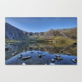 Idwal Sunrise Canvas Print
