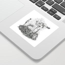 Inktober 2018: Muddy Sticker
