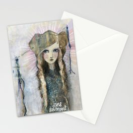 Gesso Geisha by Jane Davenport Stationery Cards