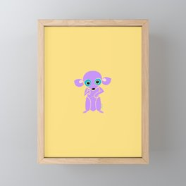 chubby chi Framed Mini Art Print