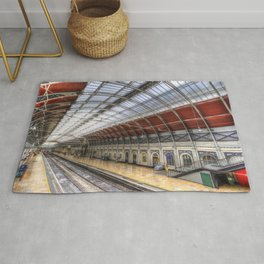 Paddington Station London Rug
