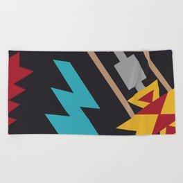 American Native Pattern No. 163 Beach Towel
