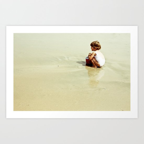 Found in the sea Art Print