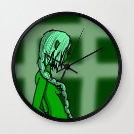 Green | Veronica Nagorny Wall Clock