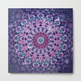 ARABESQUE UNIVERSE Metal Print