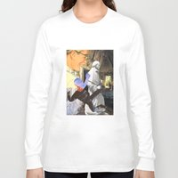 spiritual Long Sleeve T-shirts featuring Spiritual Freefall by Michael Harford