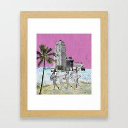 Kookie Little Paradise Framed Art Print